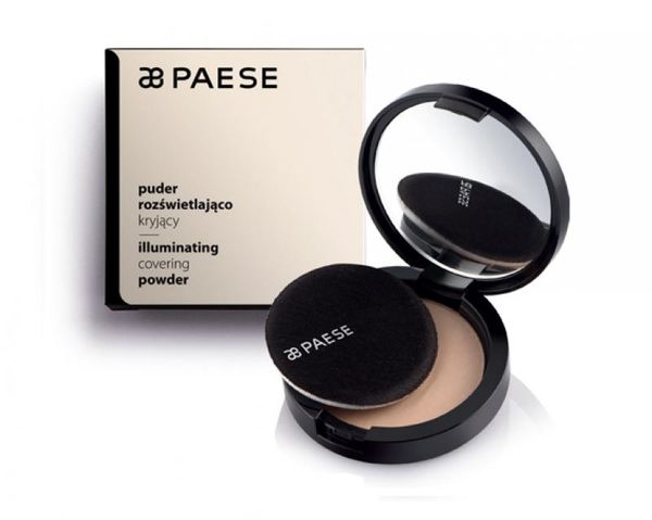 Paese kirkastava meikkipuuteri illuminating cover powder